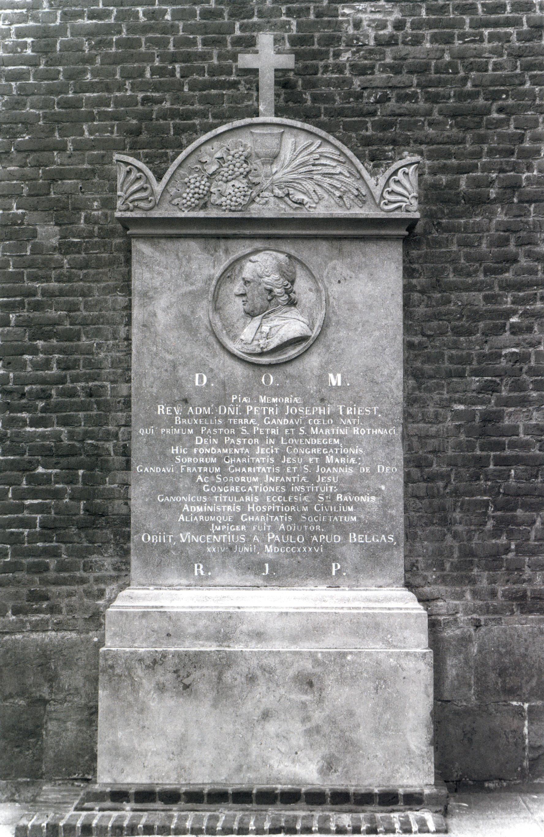 1836: Overlijden P.J. Triest
